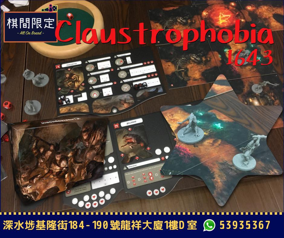 Claustrophobia 1643 Boardgame HK