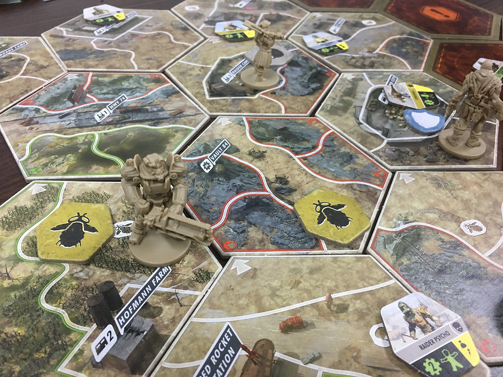 fallout The Board Game Gameplay