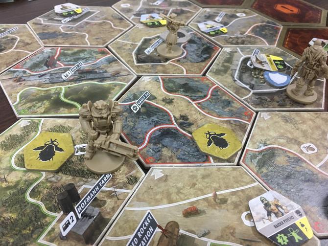 桌上遊戲介紹 - Fallout: The Board Game