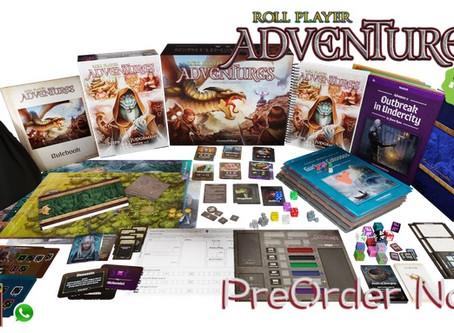 [桌遊預訂] Roll Player Adventures Kickstarter桌上遊戲現正接受預訂