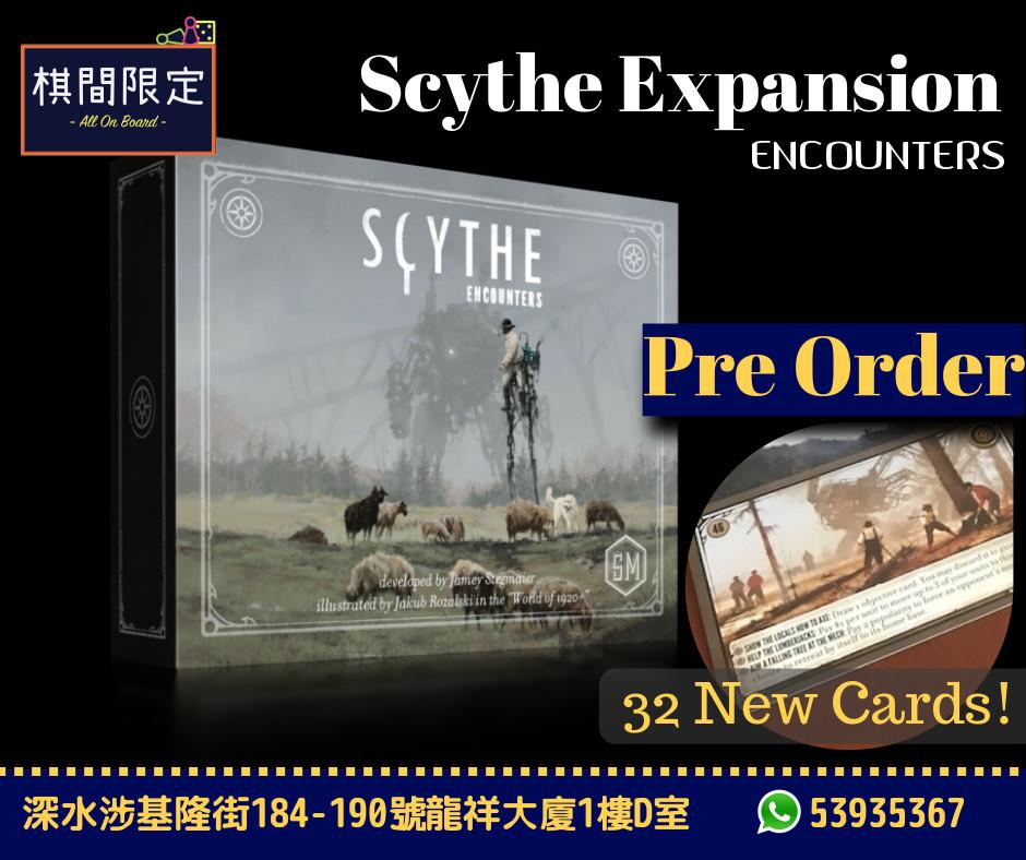 Scythe ENCOUNTERS Order