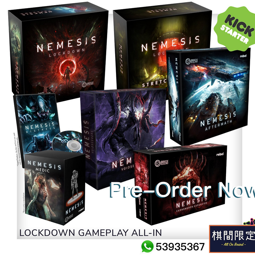 Nemesis Lockdown By Awaken Realms