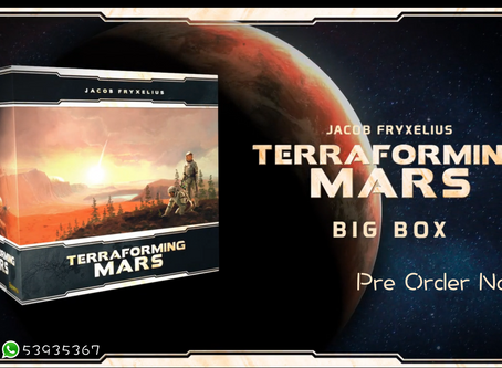 [KS桌遊預訂] Terraforming Mars Big Box 新Kickstarter配件接受預訂中