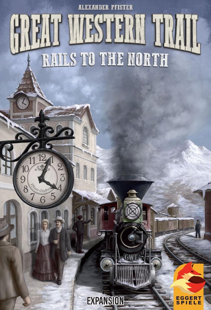 【棋間限定桌遊情報】Great Western Trail: Rails to the North