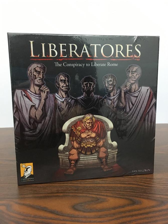 桌遊介紹  | Liberatores - 凱薩的命運