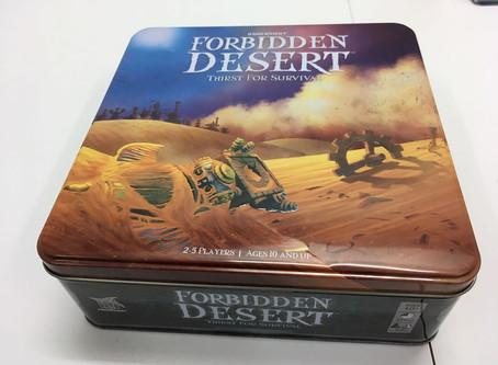 桌遊介紹 | Forbidden Desert - 禁制的荒漠