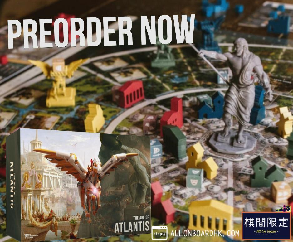 The age of Atlantis Boardgame