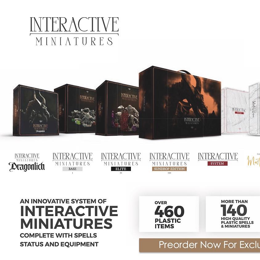 Interactive Miniatures from Game Start Studio