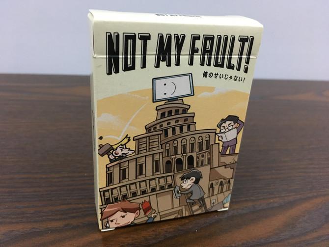 【棋間限定-日本桌遊介紹】Not My Fault! (俗稱:IT狗的辛酸)
