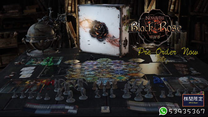 [桌遊預訂] Black Rose Wars桌上遊戲接受預訂