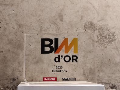 BIM D'or Le moniteur 2020-pour synopsys-Pour le groupe scolaire germain tillion a toulouse