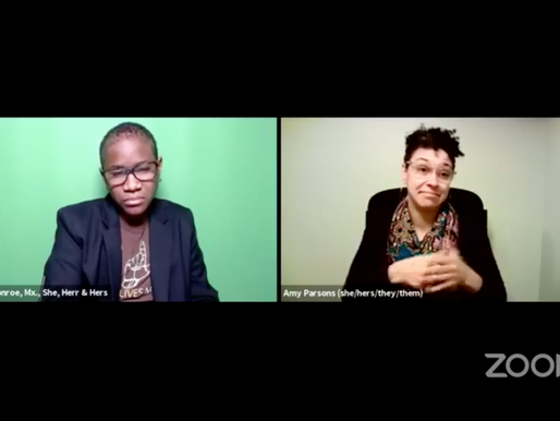 Critical Thinking: Insurrection, A Conversation with Victorica Monroe and Amy Parsons