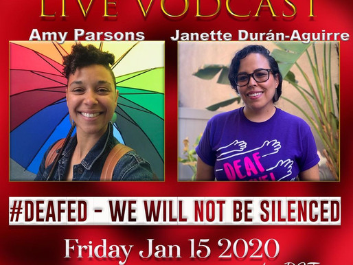 #DeafED- We Will Not Be Silenced