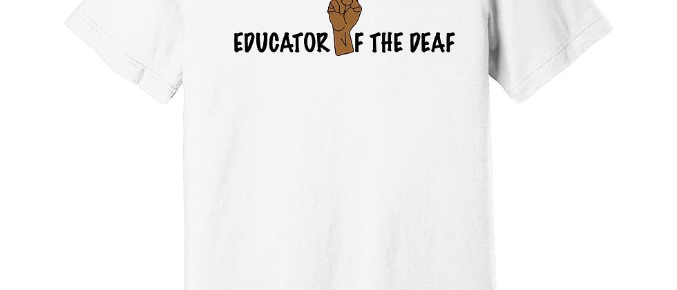 Educator of the Deaf BLM (Genderless)