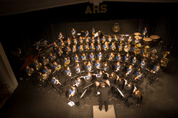 Concert Band on stage