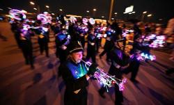 AHS Marching Band in San Antonio