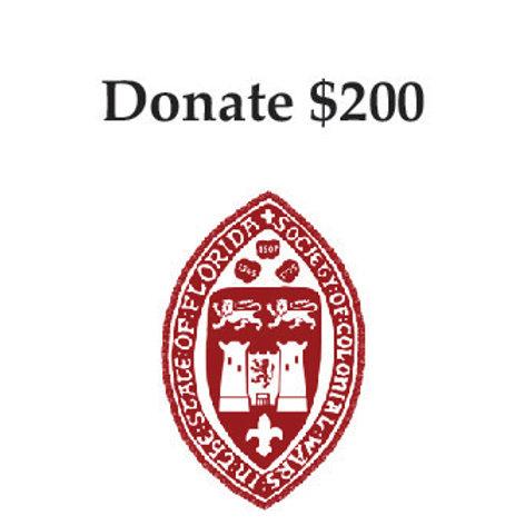 $200 Donation