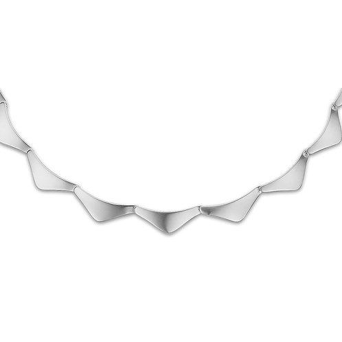 Moderne stilren halskæde
