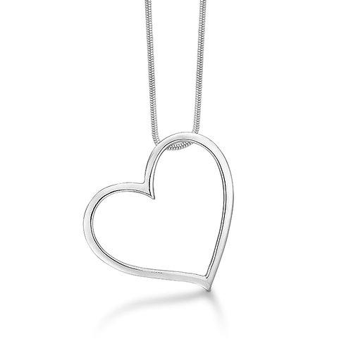 Kærligt hjertesmykke