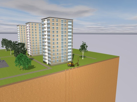 Seven tower blocks replace gas with GSHP technology