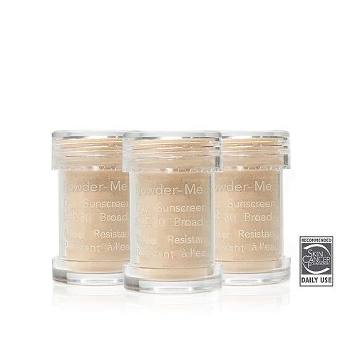 Powder-Me SPF® Refillable Brush PLUS 2 Refills Dry Sunscreen