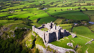 Carreg Cennen Castle, South Wales