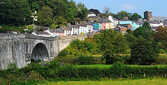 Llandeilo Market Town, South Wales