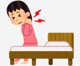 寝違えの激しい痛み