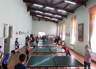 Соревнования по настольному теннису для детей с участием судей международной квалификации