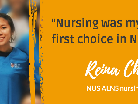 """Huh, why did you put 'Nursing' as your first choice?"""