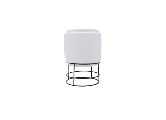Cement White with Stand