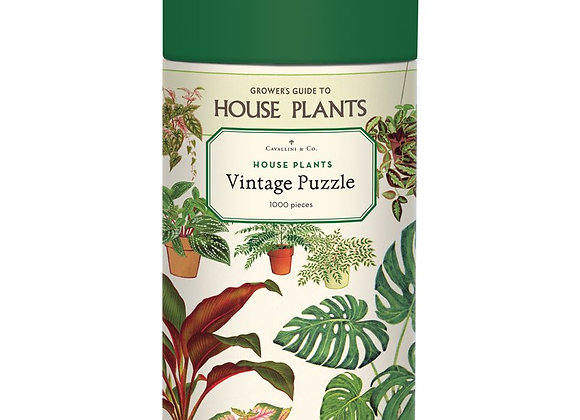 HOUSE PLANTS Puzzle (1000pcs)