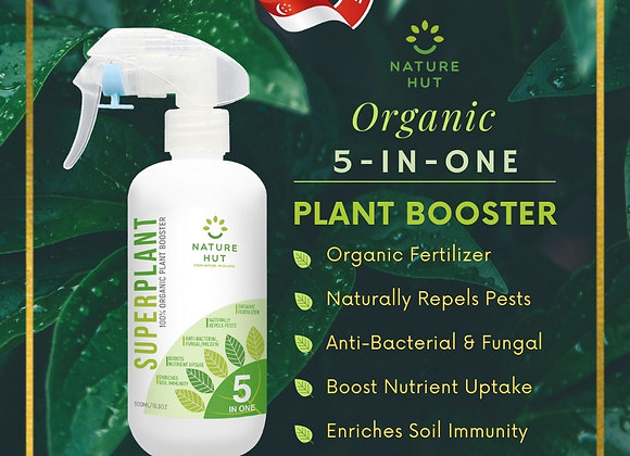 SUPERPLANT 5 in 1 ORGANIC SPRAY