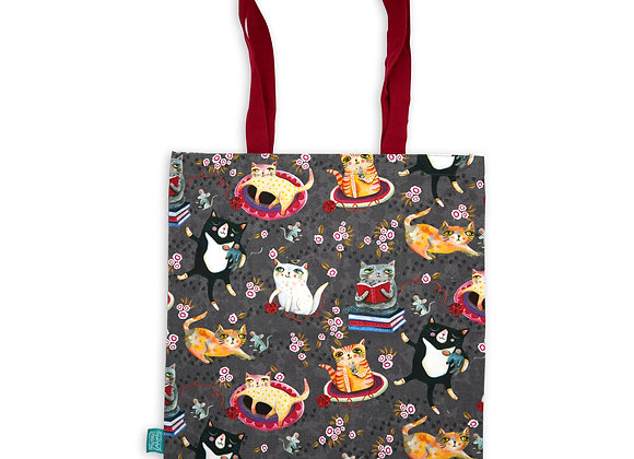 Crazy Cats Tote bag