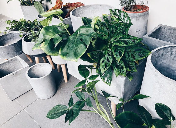 Concrete Style Planter with leg stands