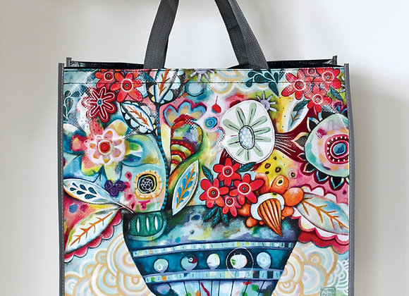 Flower Plant Shopper Bag
