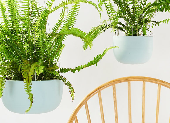 Raw Green Hanging Planter