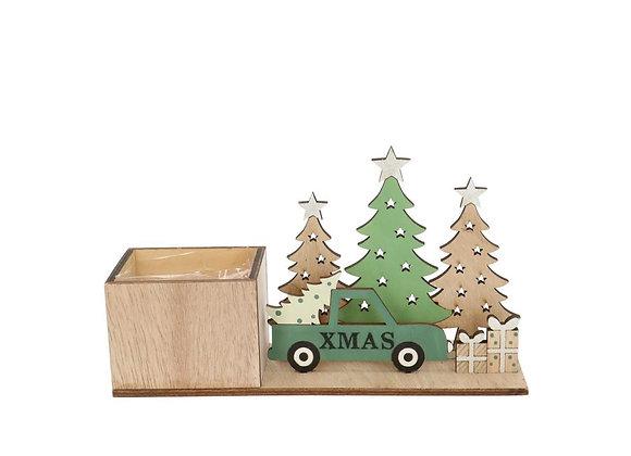 Christmas Truck w 1 free plants