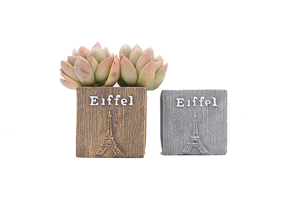 Eiffel Square Planter