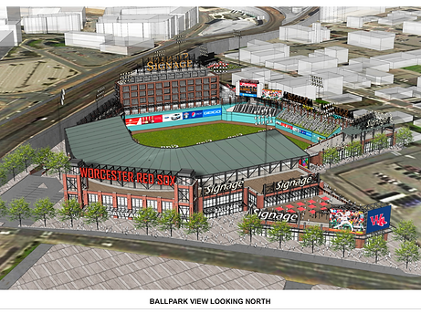 Ballpark Illustration Behind Home Plate