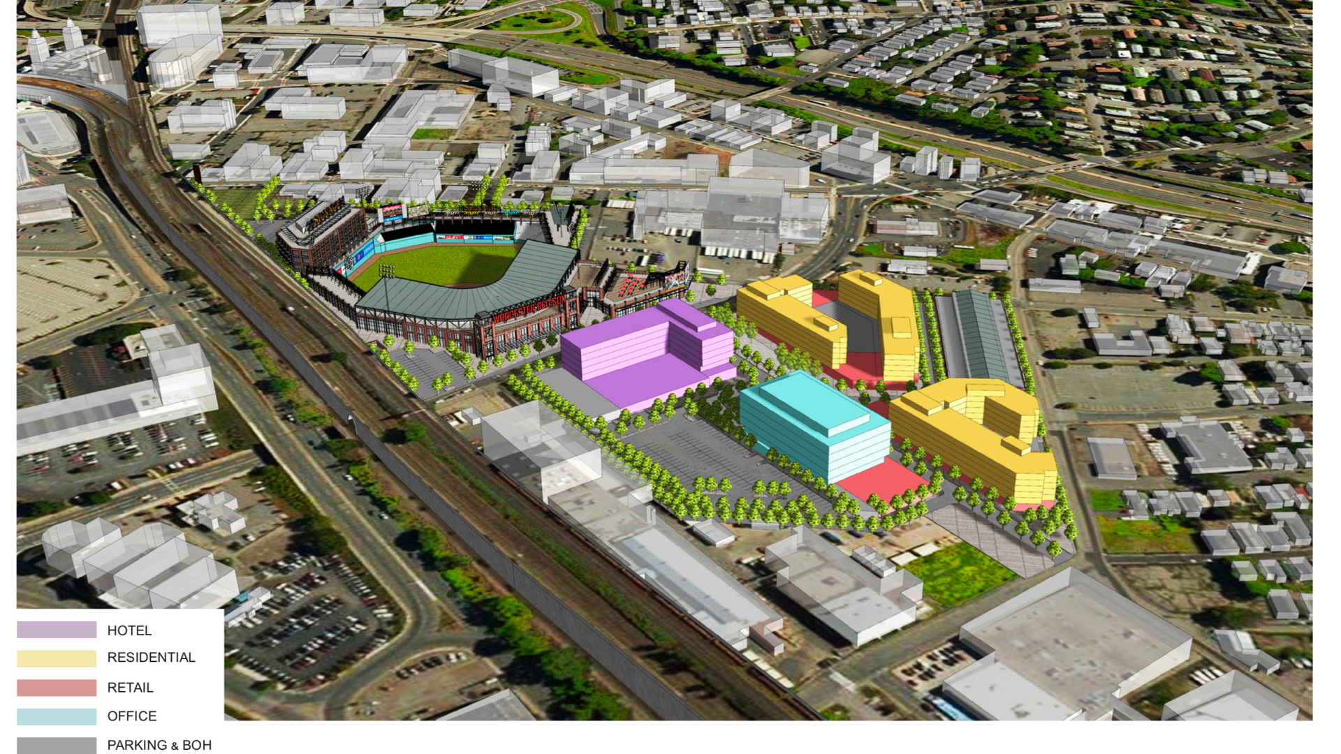 Mixed Use Ballpark Plan