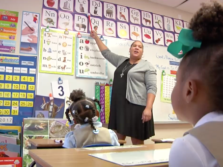 A day at Power & Grace Preparatory Academy
