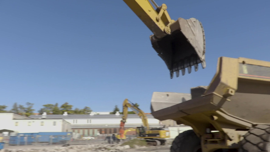French Construction clearing the way for Polar Park