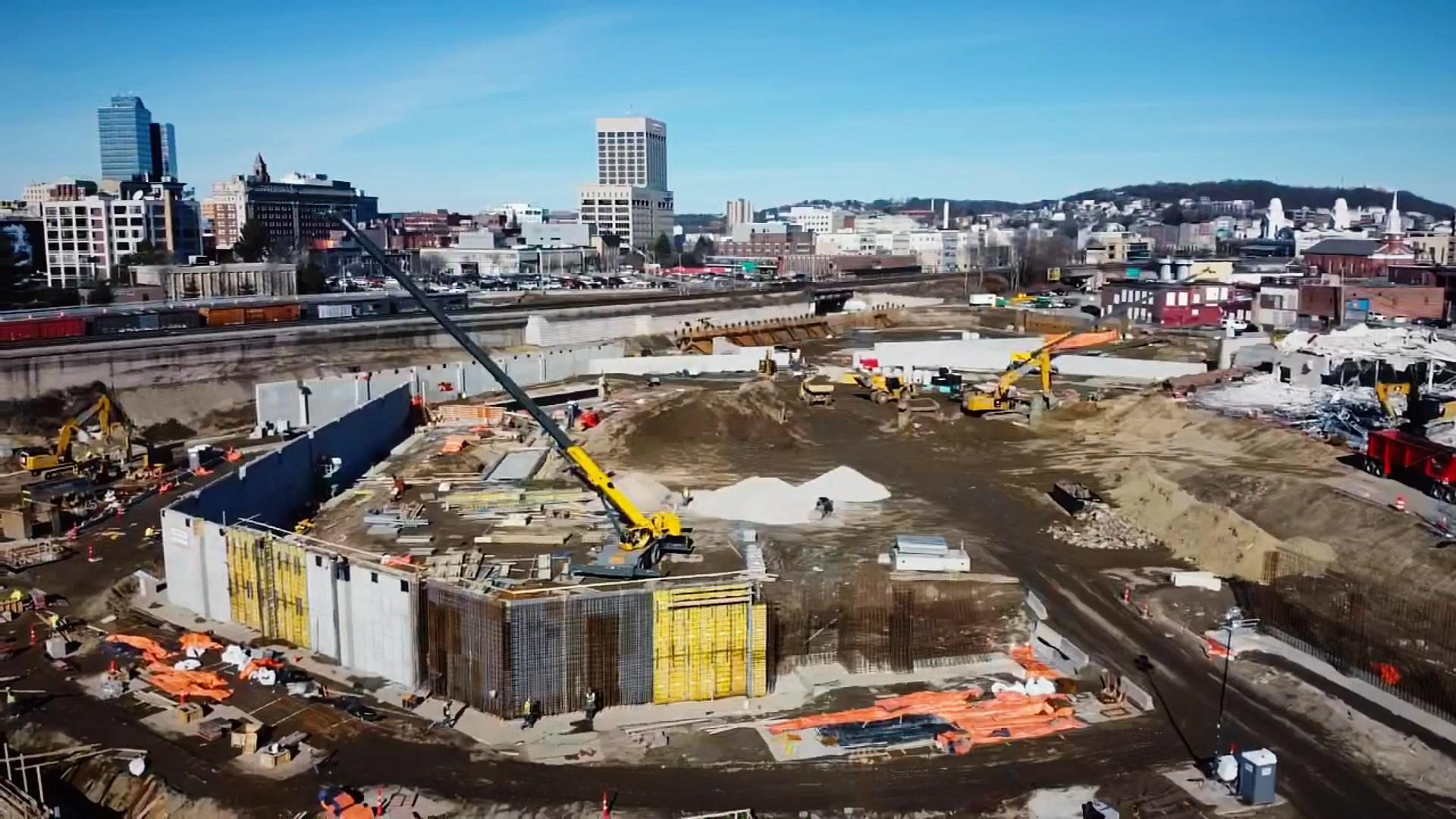Polar Park Construction - Spring 2020