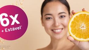 A Vitamina C mais ativa e estável do mercado