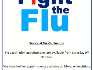 Seasonal Flu Vaccinations