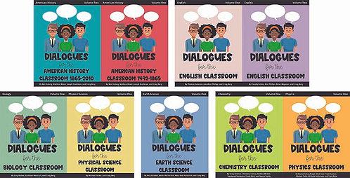 9 Dialogues Books - School Set