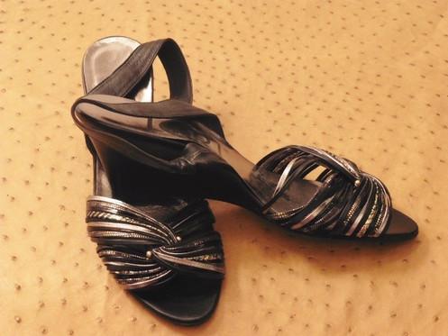 Paris Rome Compensé Neuf 40 Vintage Sandale Lori Magnifique T 7bfyvIY6gm