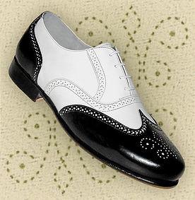 spacevintage,marseille,france,homme chaussures, bottines, lofers,spectator, saddle shoes, bicolore,cap toe,vintage 1930