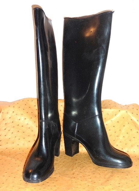 bottes caoutchouc vintage